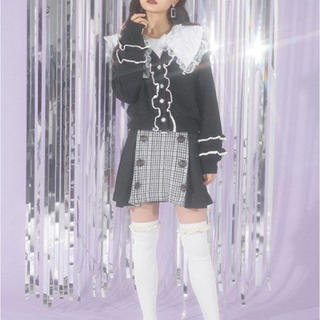 バブルス(Bubbles)のサイドプリーツトレンチスカート BUBBLES (ひざ丈スカート)
