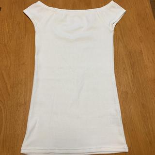 ピーチジョン(PEACH JOHN)のピーチジョン Peach John ホワイト Tシャツ トップス インナー 美品(Tシャツ(半袖/袖なし))