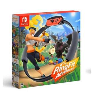 ニンテンドースイッチ(Nintendo Switch)の任天堂スイッチ☆リングフィットアドベンチャー(家庭用ゲームソフト)