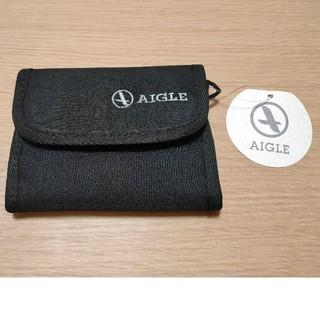 エーグル(AIGLE)のAIGLE 三つ折りナイロン財布(折り財布)