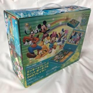 ディズニー(Disney)の【新品】DVDポータブルプレイヤー 9インチ 車搭載OK ディズニー ミッキー(DVDプレーヤー)
