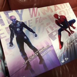 マーベル(MARVEL)のホットトイズ  アメイジングスパイダーマン  エレクトロ スパイダーマン(アメコミ)