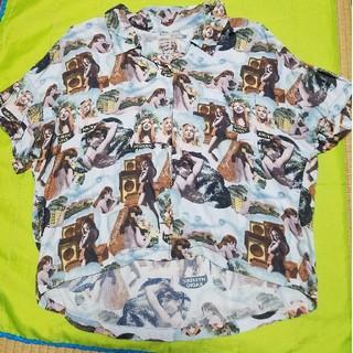 ヒステリックグラマー(HYSTERIC GLAMOUR)のヒステリックグラマー中古品 アロハシャツ(シャツ/ブラウス(半袖/袖なし))