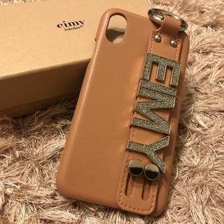 エイミーイストワール(eimy istoire)のEIMY CrystalロゴiPhoneケース X/XS(iPhoneケース)