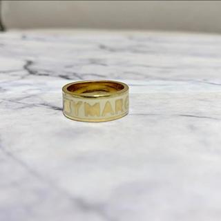 マークバイマークジェイコブス(MARC BY MARC JACOBS)のマークバイマークジェイコブス ゴールドロゴリング(リング(指輪))