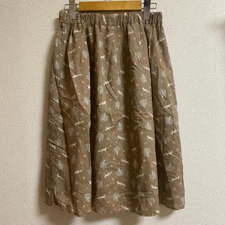 サマンサモスモス(SM2)のサマンサモスモス♥️キツネ柄スカート(ひざ丈スカート)