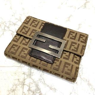 FENDI - 正規品、FENDI折り財布、即日発送