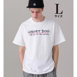 デラックス(DELUXE)のDELUXE  GHOST DOG TEE メンズ WHITE 日本 L 新品(Tシャツ/カットソー(半袖/袖なし))