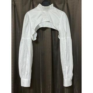 コムデギャルソン(COMME des GARCONS)の2020SS ノワールケイイノミヤ コムデギャルソン つけ袖 襟 パーツ(ボレロ)