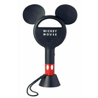 Disney - spring スプリング 9月号増刊 ミッキーマウス 羽なしハンディ扇風機