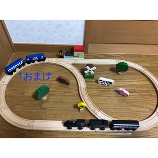 ボーネルンド(BorneLund)の値下げ!ボーネルンド ボーネエクスプレス マイカントリーハウス 木製汽車 レール(電車のおもちゃ/車)