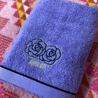 アナスイ(ANNA SUI)の   アナスイ フェイスタオル 薄pa薔薇(タオル/バス用品)