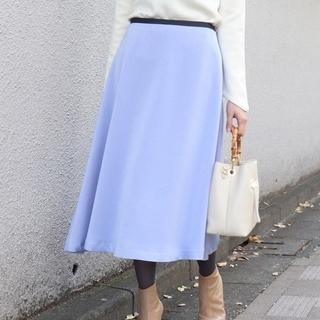 ノーブル(Noble)のNOBLE バイアスカラースカート(ひざ丈スカート)