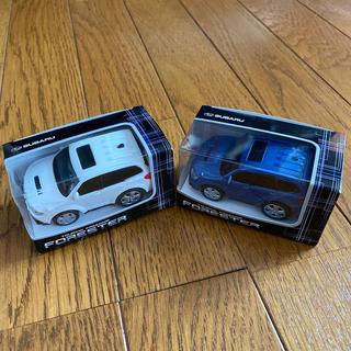 スバル(スバル)のSUBARU  フォレスタープルバックカー2台(ミニカー)