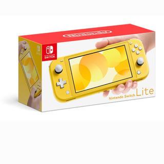 ニンテンドースイッチ(Nintendo Switch)の【コットン⭐︎キャンディさん専用】switchライト イエロー(家庭用ゲーム機本体)
