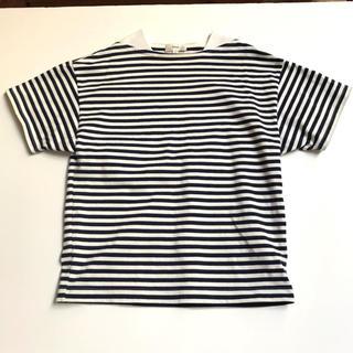 ハイク(HYKE)のHYKEのボーダー Tシャツ(Tシャツ(半袖/袖なし))