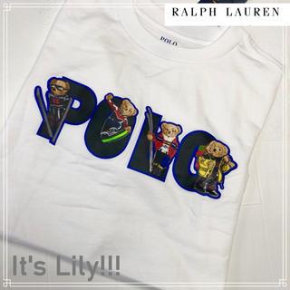 ラルフローレン(Ralph Lauren)の秋冬モデル L 160-165cm ラルフローレン ポロベア ロンt(Tシャツ/カットソー(七分/長袖))
