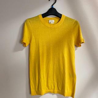 ケイトスペードニューヨーク(kate spade new york)のケイトスペード サマーニットT シルクコットン ハイゲージニット(Tシャツ(半袖/袖なし))