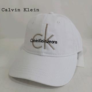 カルバンクライン(Calvin Klein)の新品 カルバンクライン ロゴキャップ・ゴールド(キャップ)