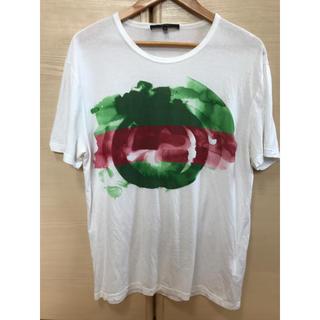 グッチ(Gucci)のGUCCI  グッチ GGロゴ Tシャツ ホワイト タイダイ M 正規品(Tシャツ/カットソー(半袖/袖なし))