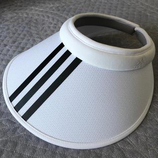 アディダス(adidas)のadidas 美品 サンバイザー(その他)