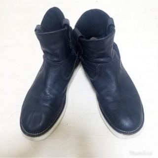 ヒステリックグラマー(HYSTERIC GLAMOUR)の★75%オフ★ヒステリックグラマーラムレザーペコスブーツ 27.5cm(ブーツ)