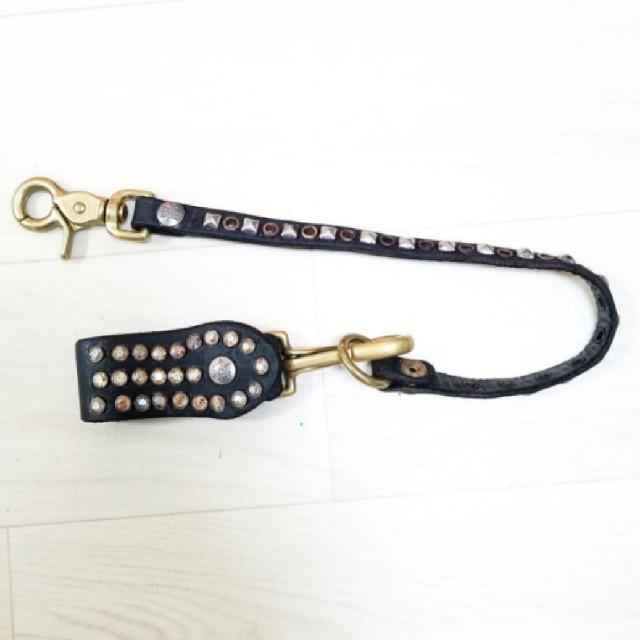 HYSTERIC GLAMOUR(ヒステリックグラマー)のウォレット コード付 メンズのファッション小物(ウォレットチェーン)の商品写真