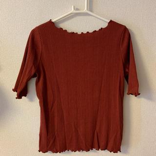 ミスティック(mystic)のメロウフロントギャザー半袖プルオーバー(Tシャツ(半袖/袖なし))