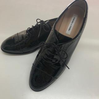 オデットエオディール(Odette e Odile)のodette e odile  パテントレースアップ 靴 23.5(ローファー/革靴)