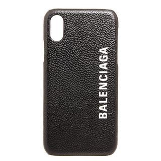 バレンシアガ(Balenciaga)の24時間発送 バレンシアガ BALENCIAGA スマートフォンケース ブラック(iPhoneケース)