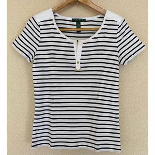 ラルフローレン(Ralph Lauren)のローレンラルフローレン 半袖 カットソー Tシャツ ボーダー(カットソー(長袖/七分))