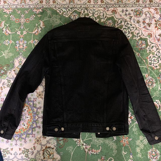 RUDE GALLERY(ルードギャラリー)のなちゅ様専用 ルードギャラリー  16A/w ブラックデニムジャケット メンズのジャケット/アウター(Gジャン/デニムジャケット)の商品写真