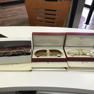 カルティエ(Cartier)のカルティエメガネ 3本セット 太郎様専用(サングラス/メガネ)