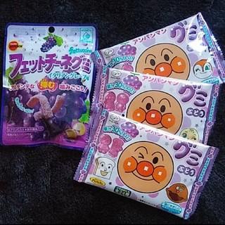 アンパンマン(アンパンマン)のアンパンマングミフィットチーネまとめぶどうセット(菓子/デザート)