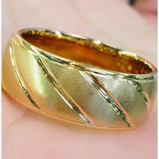 K18 ファッション リング 指輪(リング(指輪))