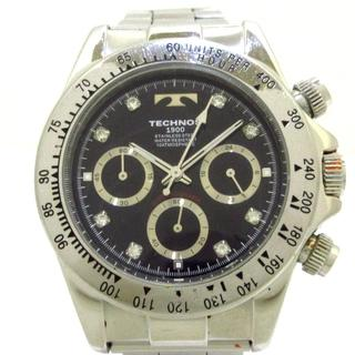テクノス(TECHNOS)のTECHNOS(テクノス) 腕時計 T4596 メンズ 黒(その他)