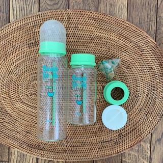 オオツカセイヤク(大塚製薬)のビーンスターク 哺乳瓶 2本セット(哺乳ビン)