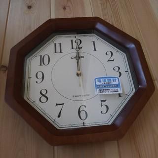 カシオ(CASIO)のCASIO IQ 1106J  掛け時計 電波時計(掛時計/柱時計)