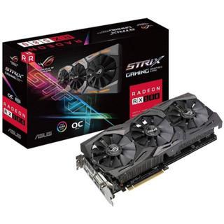 エイスース(ASUS)のRX 580 Asus rog strix(PC周辺機器)