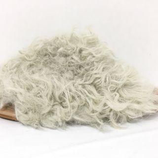 エミュー(EMU)のエミュ サンダル 7 レディース美品  ファー(サンダル)