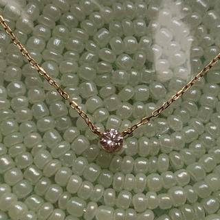 ココシュニック(COCOSHNIK)のココシュニック K18 ダイヤ ネックレス(ネックレス)