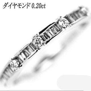はな様専用K18WG ダイヤモンド リング D0.20ct 11.5号(リング(指輪))