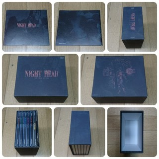 講談社 - NIGHT HEAD DVD BOX + 劇場版 DVD