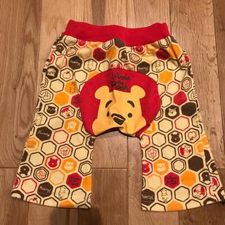 クマノプーサン(くまのプーさん)のディズニー くまのプーさん パンツ 95センチ 薄手 ベビー 男女兼用(パンツ/スパッツ)