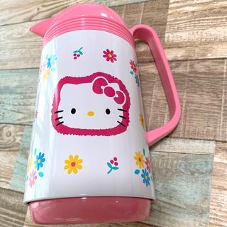ハローキティ(ハローキティ)の新品 ハローキティ ピイポット 魔法瓶1リットル(水筒)