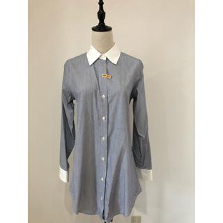 グーコミューン(GOUT COMMUN)のロングストライプシャツ(シャツ/ブラウス(長袖/七分))