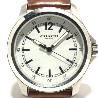 コーチ(COACH)のコーチ 腕時計 CA.94.2.14.1128 メンズ 白(その他)