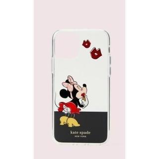 ケイトスペードニューヨーク(kate spade new york)のセール!ケイトスペードとミニーコラボ iphone 11/pro/pro max(iPhoneケース)