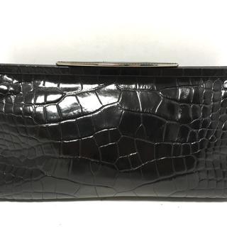 フルラ(Furla)のフルラ クラッチバッグ - 黒 型押し加工(クラッチバッグ)