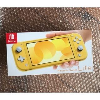 ニンテンドースイッチ(Nintendo Switch)の【新品未開封】Nintendo Switch Lite イエロー(家庭用ゲーム機本体)